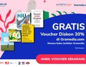 GRATIS Voucher 30% Gramedia.com