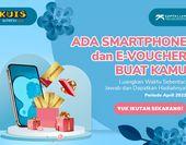 Dapatkan E-voucher dan Smartphone!
