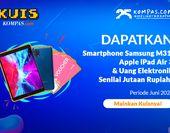 Dapatkan Ipad Air 3, Samsung M31, dan E-voucher
