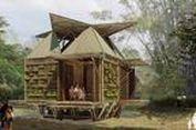 Rumah Murah Berbahan Bambu