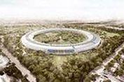 Mengintip Kantor Apple yang Futuristik
