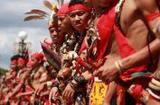 Wah, Masyarakat Dayak dari Malaysia Terpukau Gawai Dayak di Pontianak