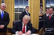 Donald Trump Dandani Ruang Oval Gedung Putih dengan Nuansa Emas