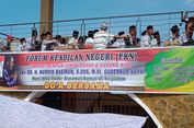 Warga Karimun Gelar Doa Bersama, Istri Nurdin Basirun Telepon Panitia Acara