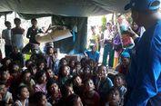 Keceriaan Anak-anak Korban Gempa Halmahera Jalani Trauma Healing