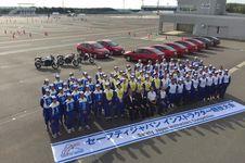 Instruktur Safety Riding Asal Indonesia di Kompetisi Honda Jepang