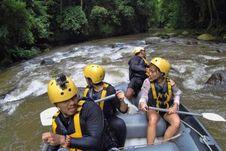 Seru-seruan Arung Jeram di Sungai Ayung