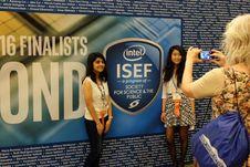 Aksi Pelajar Indonesia di Pameran Sains dan Teknologi Internasional di Phoenix, Arizona, AS