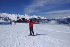 Rugi jika Tak Main Ski di Pegunungan Alpen