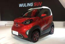 Lebih Dekat dengan E100, Mobil Mungil Bertenaga Listrik dari Wuling