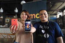 Menggenggam Si Mungil Nokia 1, Ponsel Android Go di Bawah Rp 1 Juta