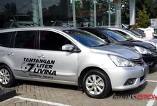 Cuma 7 Liter, Nissan Grand Livina Bandung-Jakarta