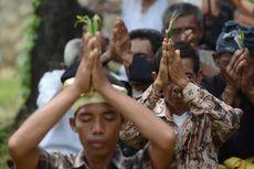 Jelang Nyepi, Pantai Kuta Dipadati Umat Hindu