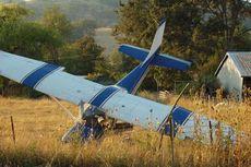 Pesawat Latih Tergelincir di Pondok Cabe
