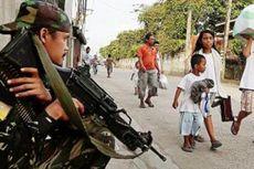 Pemberontak Filipina Gunakan Perisai Manusia