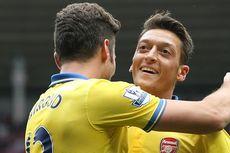 Oezil Bikin Assist, Arsenal Ungguli Sunderland