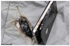 Ledakan iPhone Lubangi Jaket Pemilik