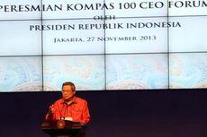 Presiden SBY: Alhamdulillah, Ekonomi Indonesia Terus Tumbuh