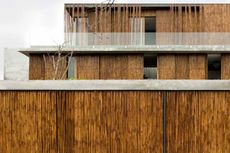 Kemewahan Rumah Bambu