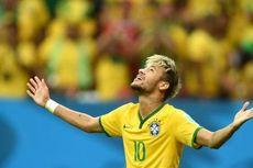 Aksi James Rodriguez Bikin Neymar Ngeri