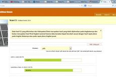 Ini Alur Pindai Form C1 Sampai di Web KPU