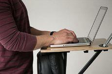Begini... Meja Kerja yang Unik dan Sehat!