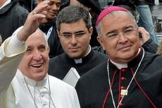 Perampok Gondol Kalung Salib dan Cincin Uskup Agung Rio de Janeiro