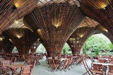 Unik, Kafe Ini Ditopang 10.000 Bambu