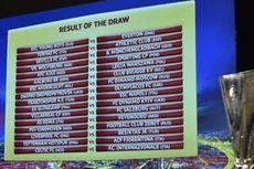 Hasil Undian Babak 32 Besar Liga Europa