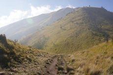 Pendaki Gunung Merbabu Diimbau Waspada Hujan Badai jelang Tahun Baru