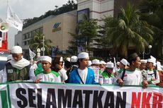 Massa GMJ Mulai Padati Bundaran Hotel Indonesia