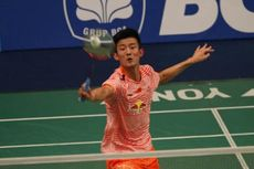 Chen Long Mundur, Sony Dwi Kuncoro ke Babak Kedua