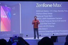 Baterai Besar, Zenfone Max Bisa Berubah Jadi Powerbank