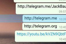 WhatsApp Blokir Telegram Pakai