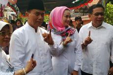 Tunggu Penghitungan Suara, Rasiyo-Lucy ke Makam Mantan Wali Kota Surabaya