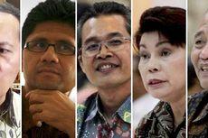 Sebelum Dilantik, Lima Pimpinan Terpilih Sambangi Gedung KPK