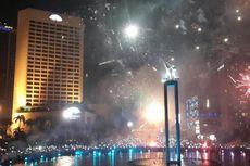 Meriahnya Tahun Baru di Bundaran Hotel Indonesia