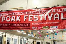 Dalam 2 Jam, Masakan di Festival Babi Ludes