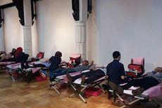 Ulang Tahun, Toko Buku Gramedia Gelar Acara Donor Darah