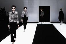 Eksploitasi Hitam dan Putih pada Koleksi Terbaru Giorgio Armani