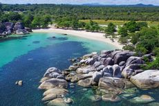 Pantai Tanjung Tinggi, Destinasi Wisata Favorit di Belitung