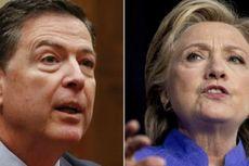 Pimpinan FBI 'Mungkin Telah Melanggar Hukum' Terkait Email Hillary