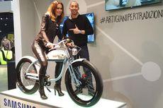 Mengenal Samsung Smart Bike by Italjet di Milan