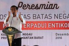 Presiden: Maaf, Ibu Jokowi, Kali Ini Saya Ditemani Wanita Cantik...