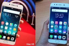 Dijual Bersamaan, Vivo V5 dan V5 Plus Saling