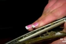 Ditinggal Tidur, iPhone 6 Plus Milik Wanita Ini Terbakar Sendiri