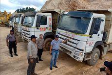 Menambang di Hutan, Ratusan Alat Berat Perusahaan Tambang Disegel