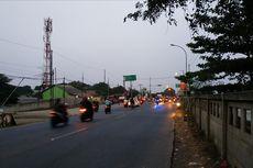 Lajur Tol Jakarta-Cikampek Ditutup Sebagian, Jalur Alternatif Lancar