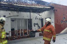 Kontrakan Dilalap Api di Pasar Rebo, Kerugian Capai Rp 1,3 Miliar