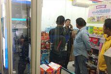 Pencuri Rusak Mesin ATM di Sebuah Supermarket di Medan